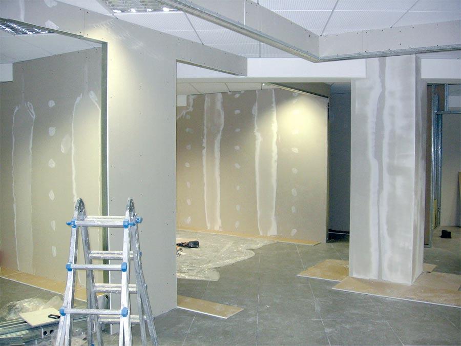 Divisori in cartongesso elegant costo delle pareti - Porta smalti ikea ...
