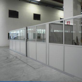 Box uffici per capannoni e magazzini centrufficio for Piani di capannone per uffici esterni