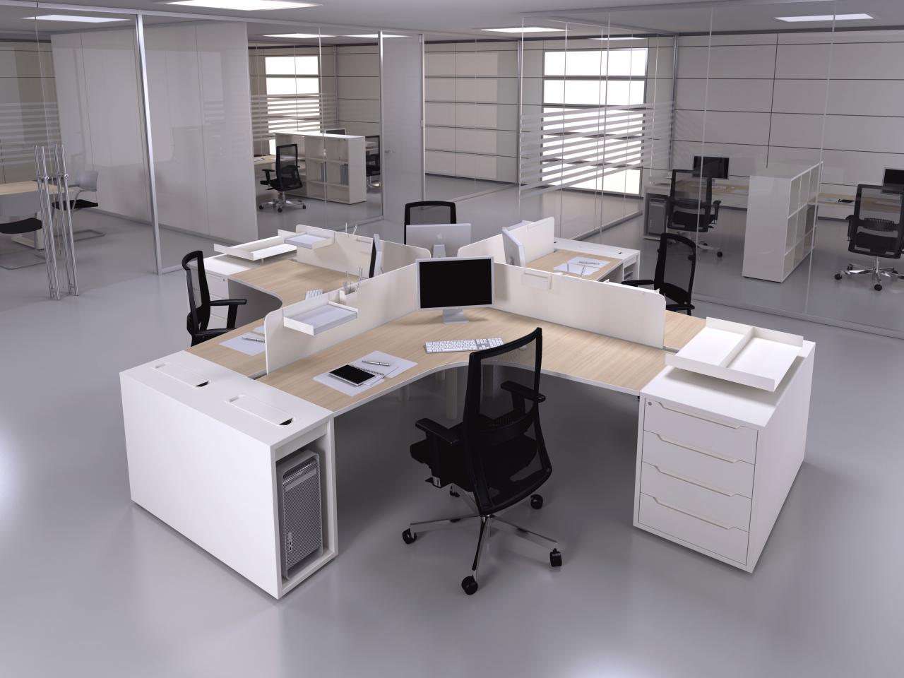 Disposizione Scrivania Ufficio : Logic centrufficio