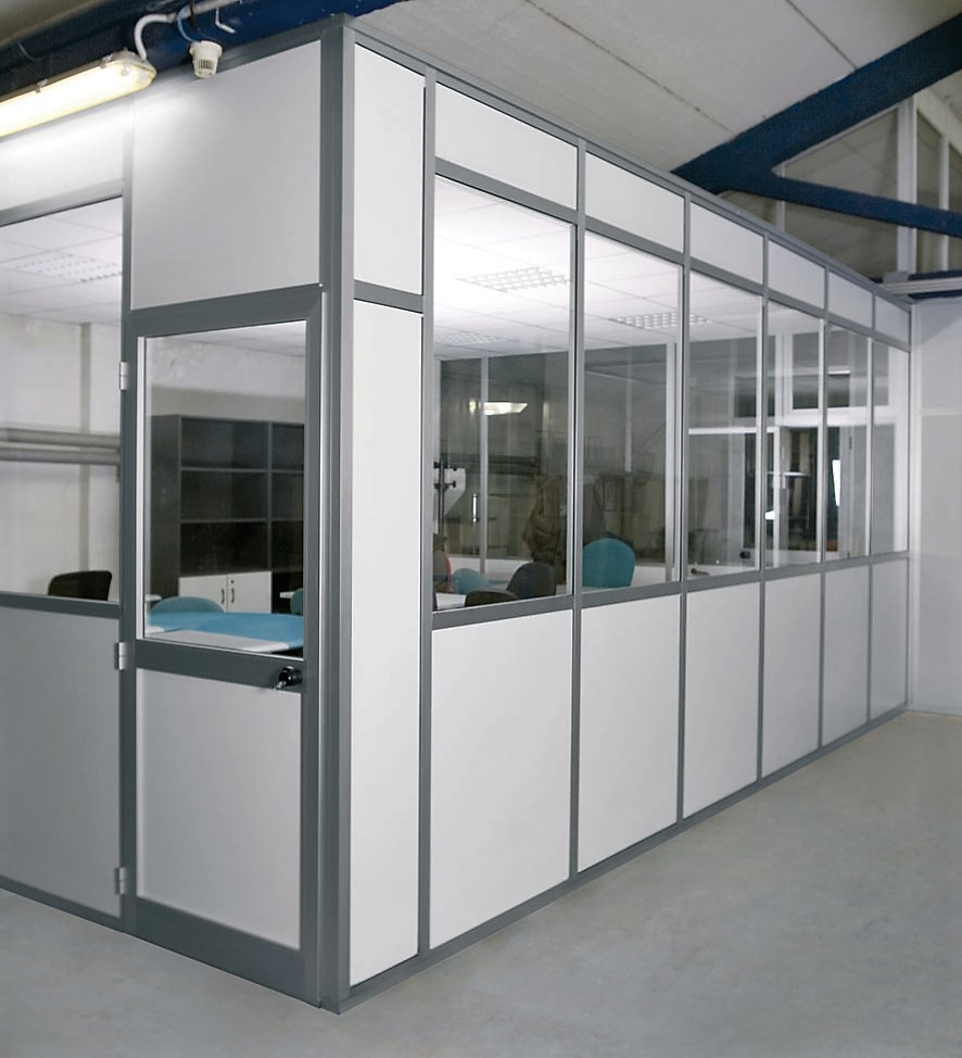 Box uffici per capannoni e magazzini centrufficio for Magazzini mobili