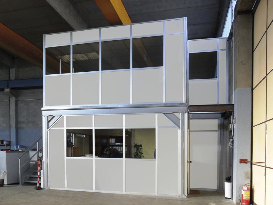 Box Ufficio Usato Treviso : Box uffici per capannoni e magazzini centrufficio