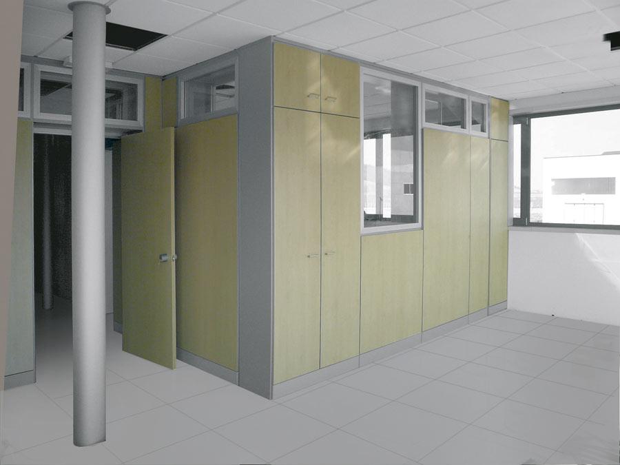 Arredamento Per Ufficio Officina : Box uffici per capannoni e magazzini centrufficio