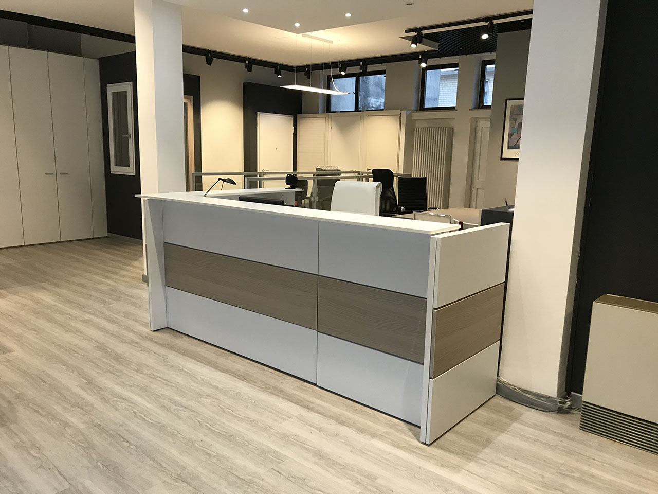 Scrivanie Ufficio Novara : Arredo ufficio office design