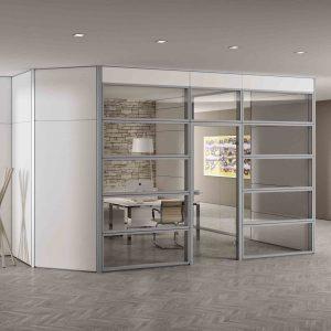 Divisorie archivi centrufficio for Pareti divisorie mobili per interni